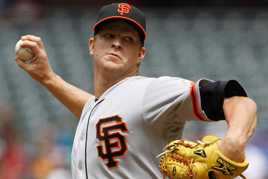 Matt Cain Says Leg Injury Is Not Serious