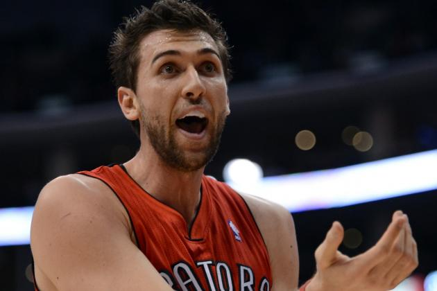 Raptors Fans Booing Andrea Bargnani