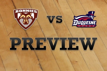 St. Bonaventure vs. Duquesne: Full Game Preview
