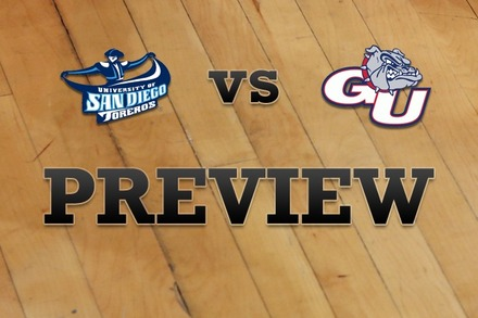 San Diego vs. Gonzaga: Full Game Preview