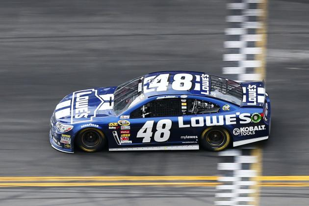 Jimmie Johnson Holds off Dale Earnhardt Jr. to Win Daytona 500