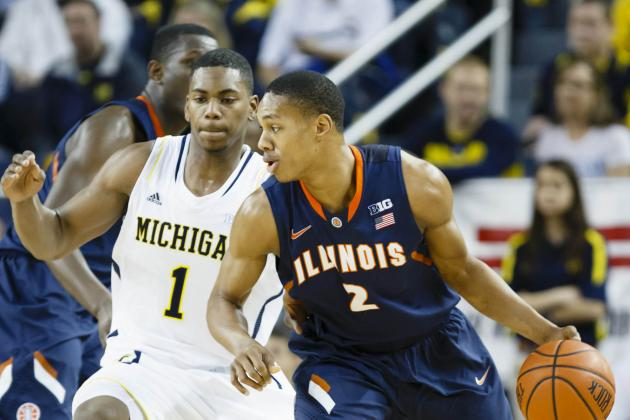 No. 7 Michigan tops Illinois with defense