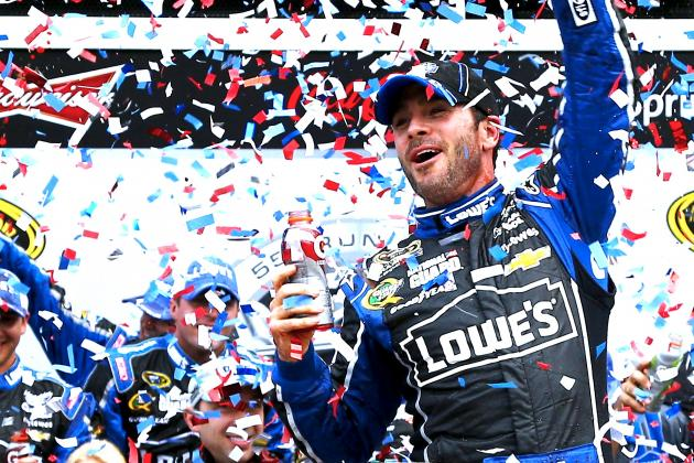 Jimmie Johnson Wins 2013 Daytona 500