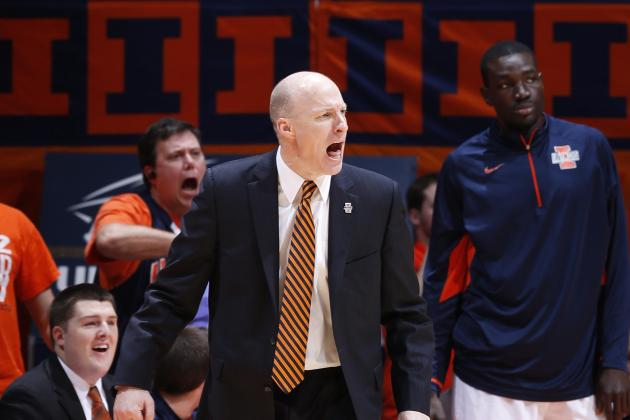 Illinois Figting Illini Not Ready to Be Top-Tier Team in Big Ten