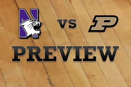 Northwestern vs. Purdue: Full Game Preview