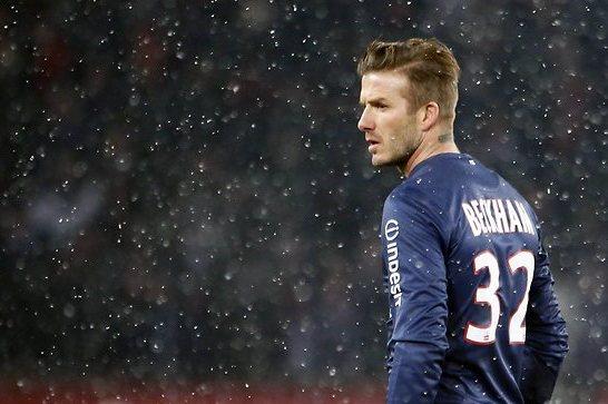 David Beckham Sets Up Goal on Paris Saint-Germain Debut