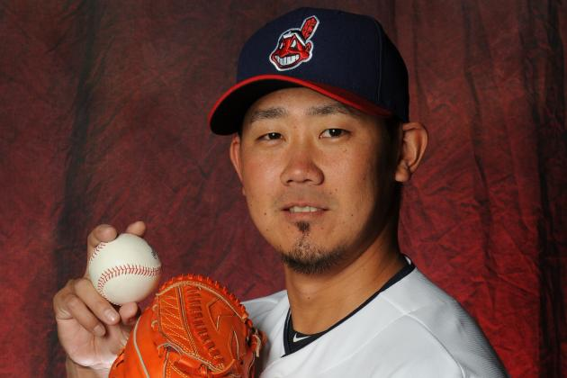 Dice-K Tosses 2 Scoreless Innings in Indians Debut