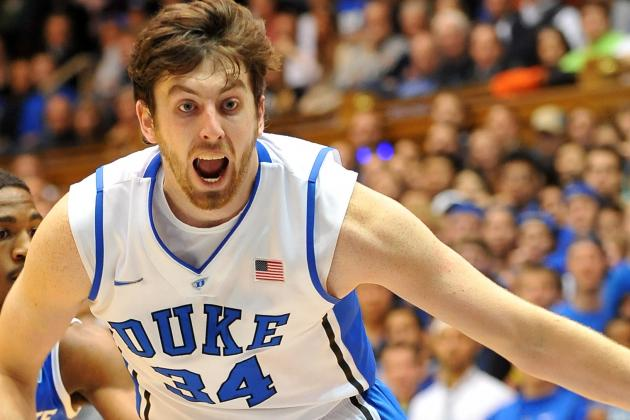 Duke's Ryan Kelly Wants to Return for Senior Night