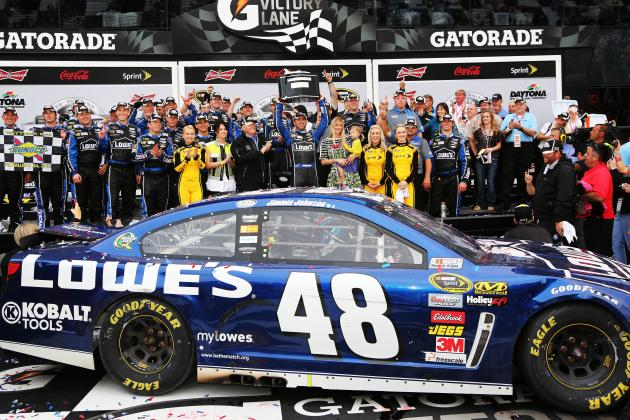 Jimmie Johnson Joins Elite Company After Second Daytona 500 Win