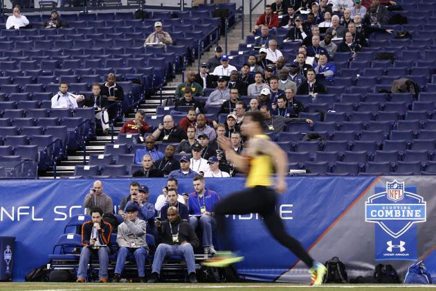 NFL Combine 2013 Results: Top 40-Yard Dash RBs Who Boosted Draft Stock