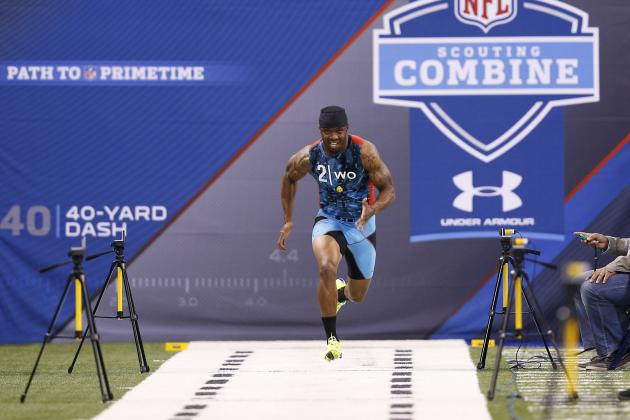 Tavon Austin Combine: WVU Star Solidifies 1st-Round Status with Amazing Workout