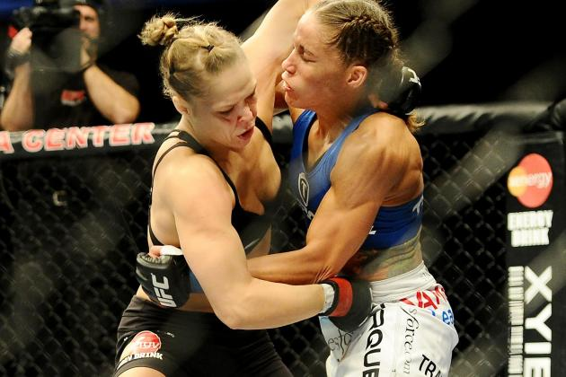Ronda Rousey vs. Liz Carmouche: Where Does It Rank Among 2013's UFC Main Events?