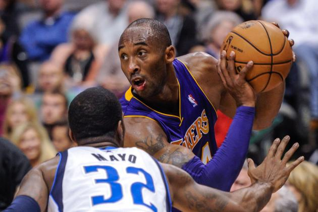Kobe's crossover puts O.J. Mayo on skates(VIDEO)