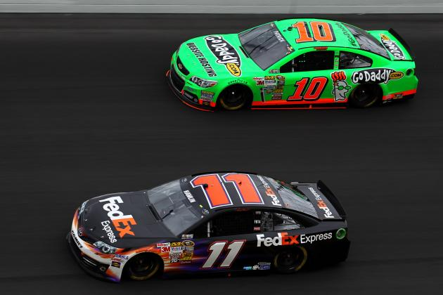 Danica Patrick, First Woman to Lead a Lap at Daytona 500