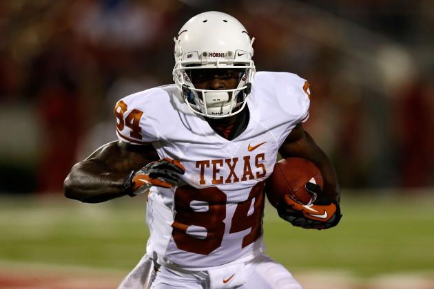 Marquise Goodwin Combine: Texas Receiver Has Serious Sleeper Potential