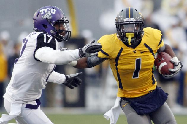 NFL Combine Records: Tavon Austin Ups Stock After Sniffing Chris Johnson's Mark
