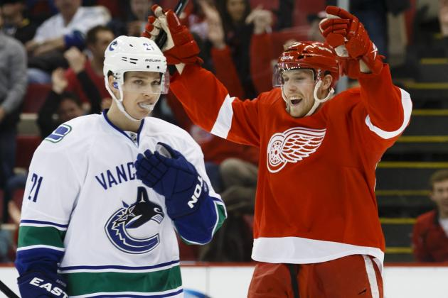 Canucks Versus Red Wings: Game Video - NHL Video Highlights