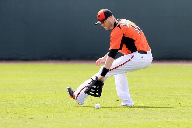Orioles' Nolan Reimold makes long-awaited return to the plate