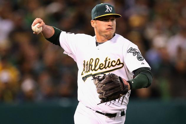 Oakland A's Josh Donaldson Learning to Play Third Base