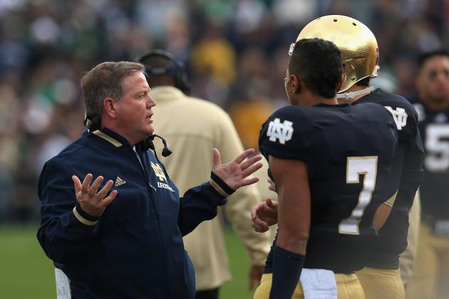 Notre Dame Football Spring Game 2013: Date, Time, Practice Schedule and TV Info