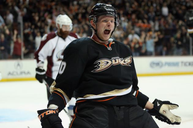 Perry Scores in OT as Ducks Win 6th Straight