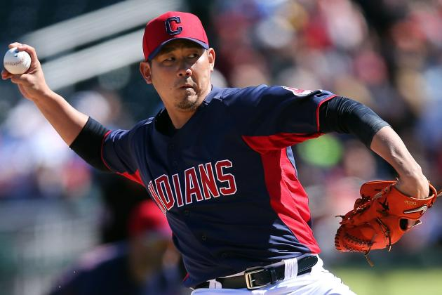 Dice-K, Indians blank Reds