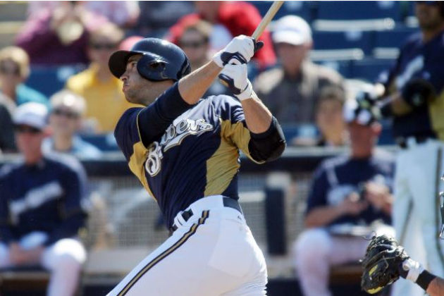 Brewers 2, A's 1: Ryan Braun Homers in First at-Bat in Brewers Victory