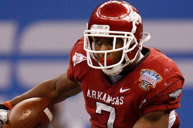 Former Arkansas RB Knile Davis Wows at NFL Combine