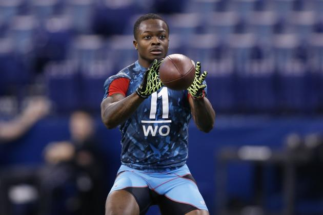 Marquise Goodwin Combine: Evaluating WR's Draft Stock After Spectacular Showing
