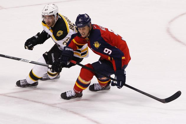Florida Panthers' Stephen Weiss Benched During Loss to Bruins