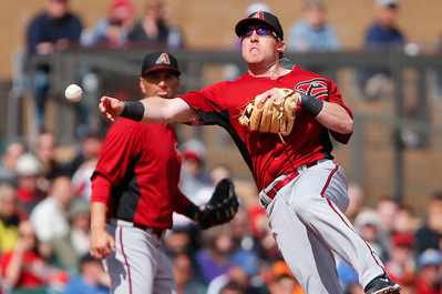 Arizona Diamondbacks' Cliff Pennington Puts Team 1st