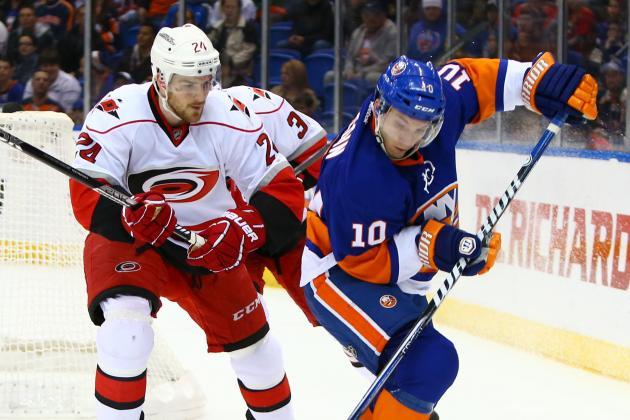 Sanguinetti caps Canes comeback vs. Islanders