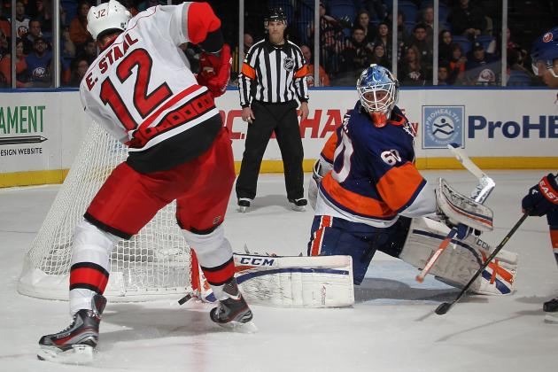 Islanders Give Up 4 Unanswered Goals in Loss to Canes