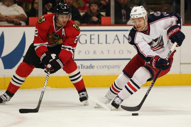 Blackhawks Shut out Blue Jackets