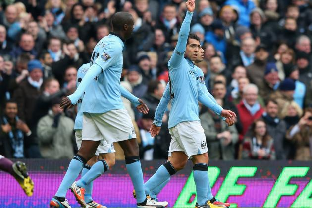 Manchester City vs. Chelsea: 3 Stars from City's 2-0 Victory