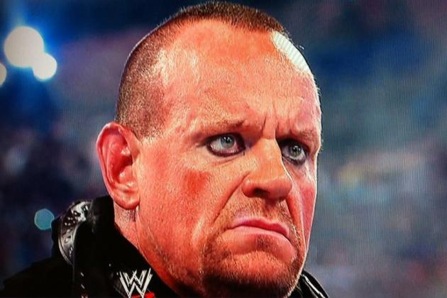 Undertaker's Return at Live Event Means CM Punk Will Lose to John Cena, Right?