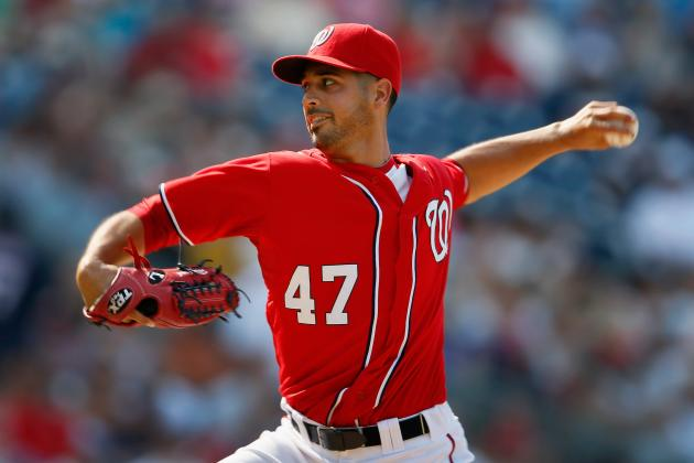 Gio Gonzalez to Pitch Monday with Hopes to Put PED Scandal Behind Him