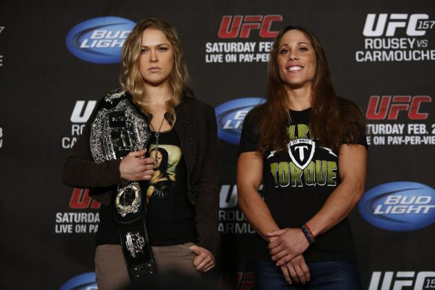 Was Ronda Rousey vs. Liz Carmouche the Most Important Fight in WMMA History?