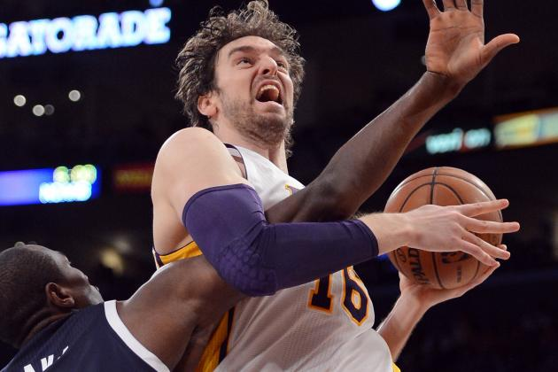 Lakers Coach Mike D'Antoni: Pau Gasol Out Until Playoffs
