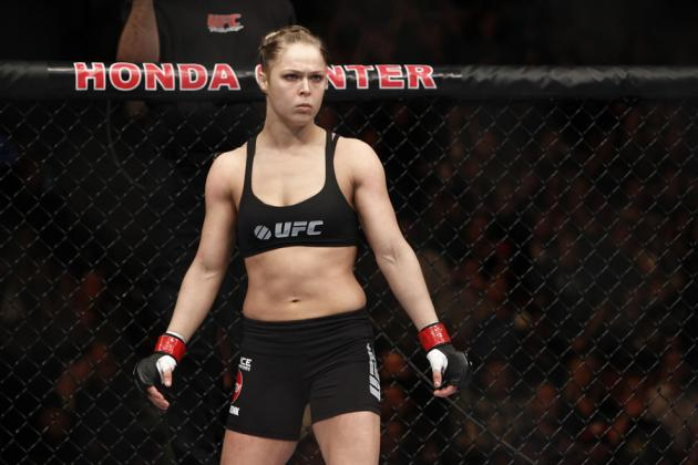 How Ronda Rousey Stacks Up Against the Other Women in the UFC