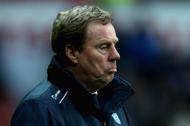 Harry Redknapp Ready for Abuse When Struggling QPR Visit Southampton