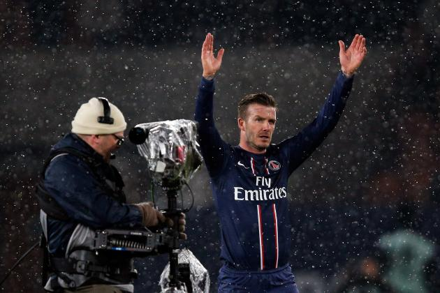 David Beckham Enjoys the Perfect Day as PSG Beat Marseille