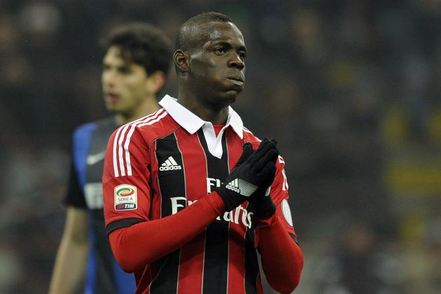 Mario Balotelli Reportedly Suffers Racial Abuse in Milan Derby