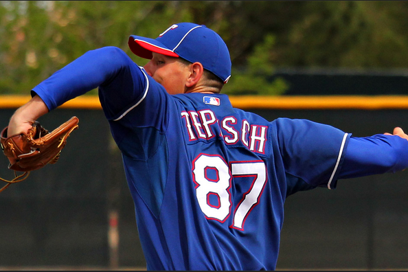 Nick Tepesch Impresses in Debut