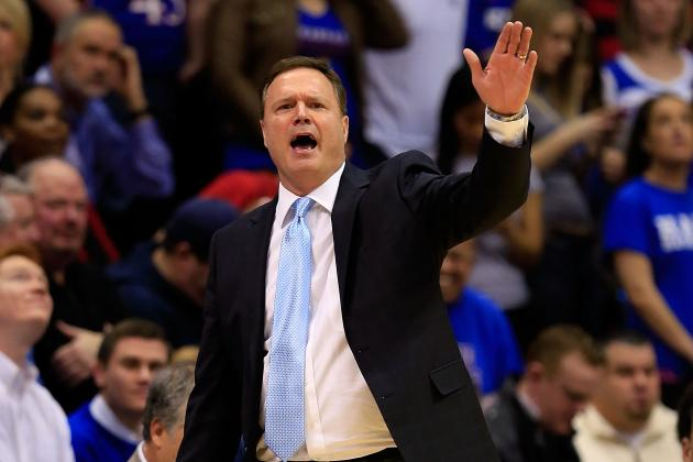 Kansas' Self on Cusp of Milestone, Could One Day Catch Coach K