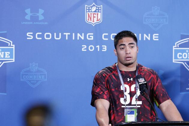 How Manti Te'o's Shoulder Injury Will Affect His Combine