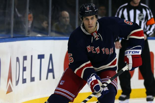 Girardi, Del Zotto, Powe Return to Practice Monday