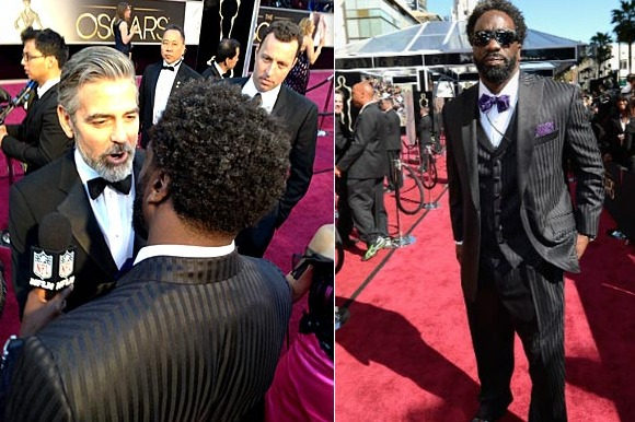 George Clooney to Ed Reed: 'You Hurt Me Bad, I'm a Bengals Fan'