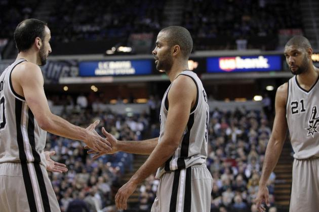 Spurs Bond at In-N-Out Burger