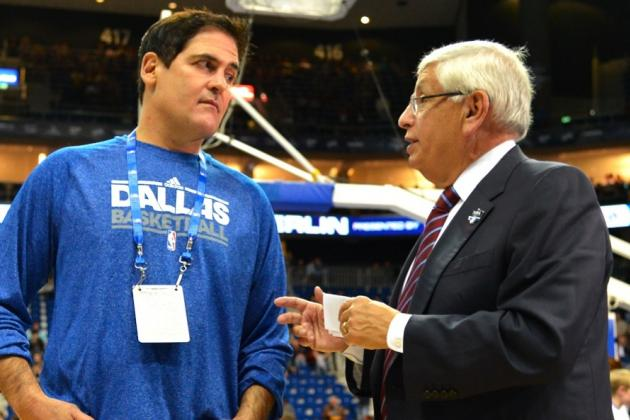 NBA Launches Investigation into Mark Cuban Suggesting Lakers Amnesty Kobe Bryant